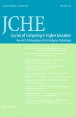 Journal of Computing in Higher Education 3/2016