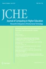 Journal of Computing in Higher Education 1/2018