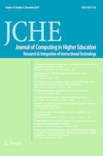 Journal of Computing in Higher Education 3/2019