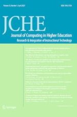 Journal of Computing in Higher Education 1/2021