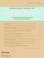 International Journal of Behavioral Medicine 3/2014