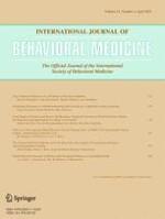 International Journal of Behavioral Medicine 2/2015