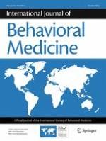 International Journal of Behavioral Medicine 5/2016