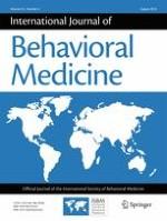 International Journal of Behavioral Medicine 4/2018