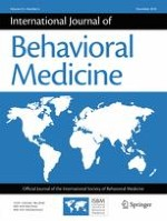 International Journal of Behavioral Medicine 6/2018