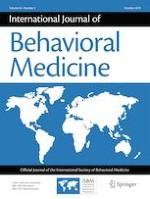 International Journal of Behavioral Medicine 5/2019