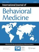 International Journal of Behavioral Medicine 3/2020