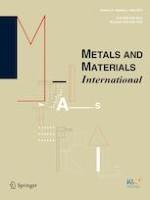 Metals and Materials International 3/2019