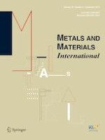 Metals and Materials International 5/2019