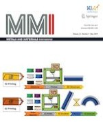 Metals and Materials International 5/2020