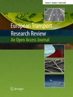 European Transport Research Review 1/2009