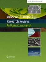 European Transport Research Review 4/2009