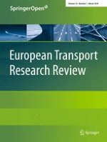 European Transport Research Review 1/2018