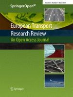 European Transport Research Review 1/2011