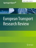 European Transport Research Review 1/2015