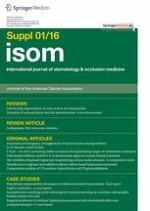 international journal of stomatology & occlusion medicine 1/2016