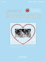 Journal of Echocardiography 3/2019
