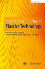 International Journal of Plastics Technology 1/2015