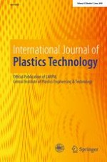 International Journal of Plastics Technology 1/2018
