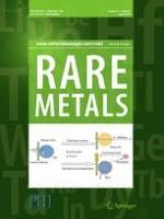 Rare Metals 8/2016