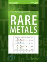 Rare Metals 10/2017