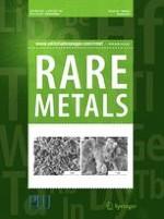 Rare Metals 2/2017