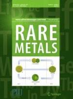 Rare Metals 4/2017