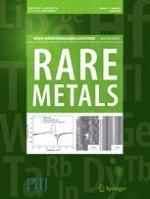 Rare Metals 10/2018