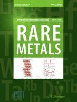Rare Metals 11/2018