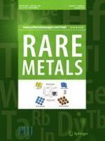 Rare Metals 12/2018