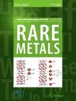 Rare Metals 2/2018