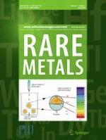 Rare Metals 3/2018