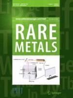 Rare Metals 4/2018