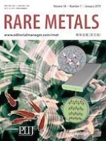 Rare Metals 1/2019