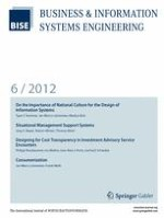 Business & Information Systems Engineering 6/2012