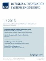 Business & Information Systems Engineering 1/2013