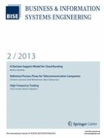 Business & Information Systems Engineering 2/2013
