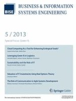 Business & Information Systems Engineering 5/2013