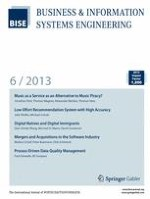 Business & Information Systems Engineering 6/2013