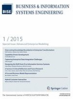 Business & Information Systems Engineering 1/2015