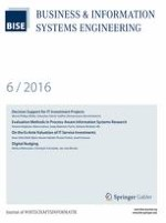 Business & Information Systems Engineering 6/2016