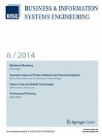 Business & Information Systems Engineering 6/2014