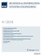 Business & Information Systems Engineering 4/2018