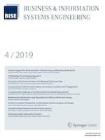 Business & Information Systems Engineering 4/2019