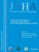 The journal of nutrition, health & aging 1/2009