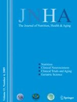 The journal of nutrition, health & aging 4/2009