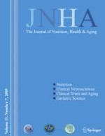 The journal of nutrition, health & aging 7/2009