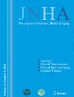 The journal of nutrition, health & aging 5/2010