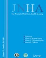 The journal of nutrition, health & aging 10/2011