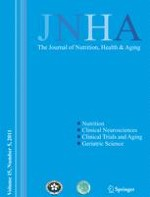 The journal of nutrition, health & aging 5/2011
